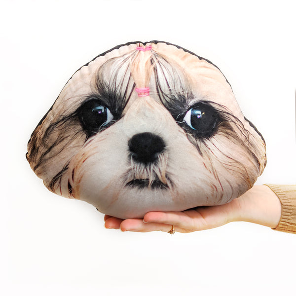 Dog Face Cushion - Pet Mush Cush 4