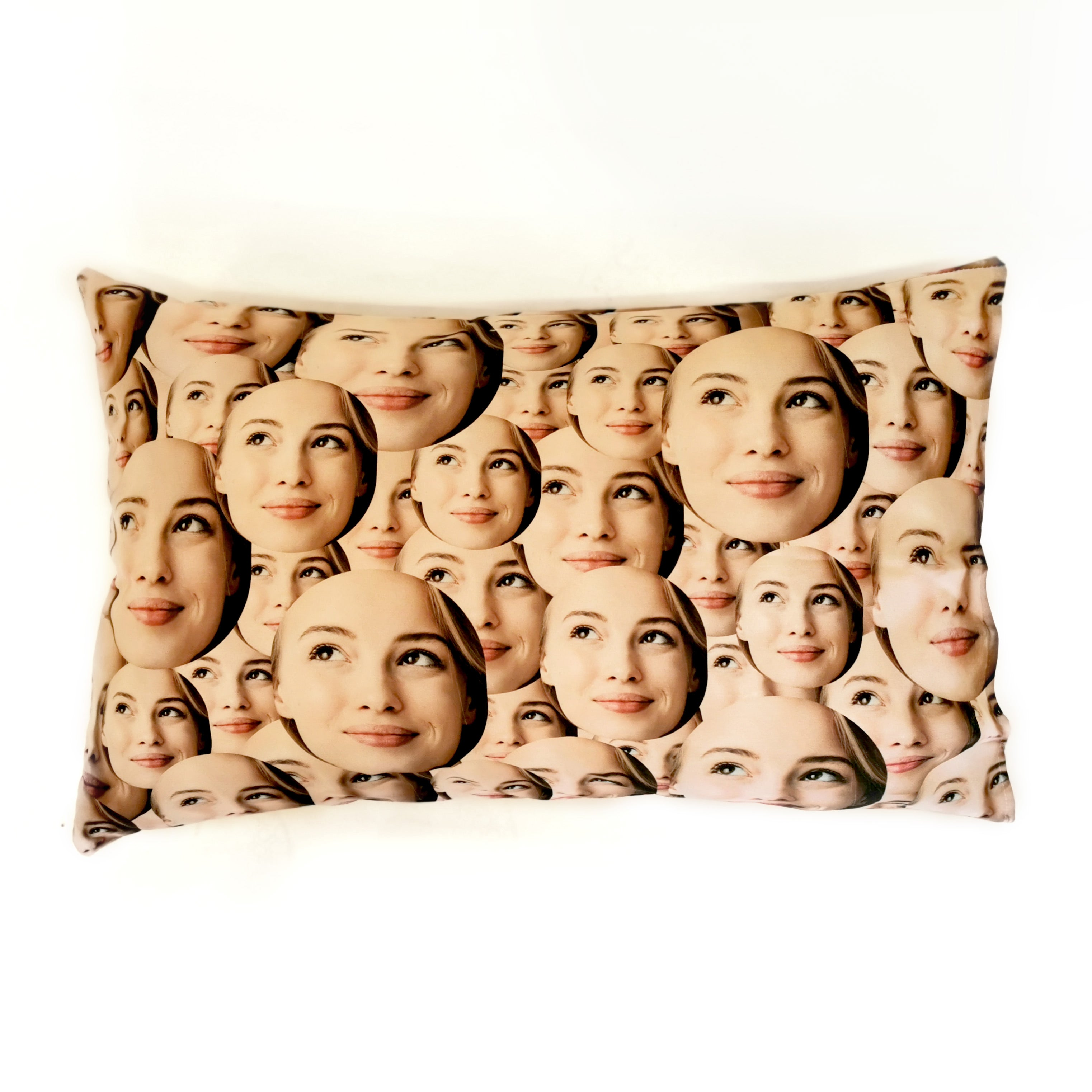 Your Face All Over - Pillow Case