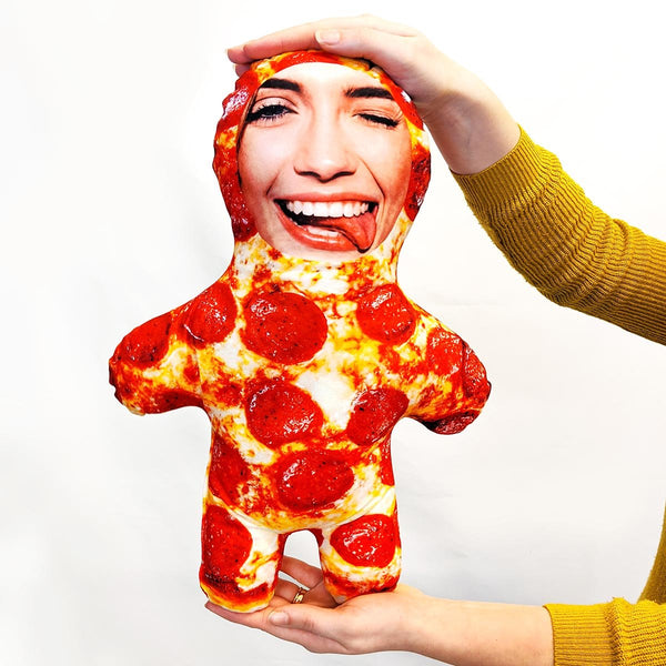 pizza mini me doll