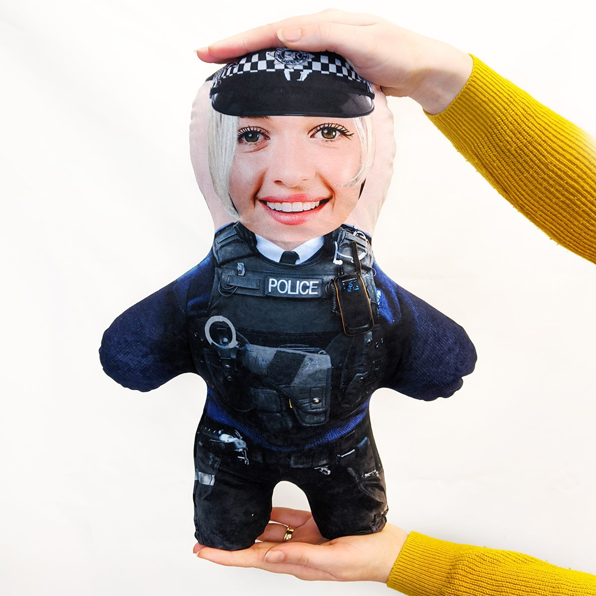 police woman mini me doll