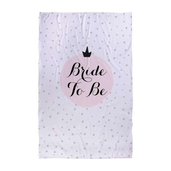 Polka Dot - Bride To Be - Wedding Towel