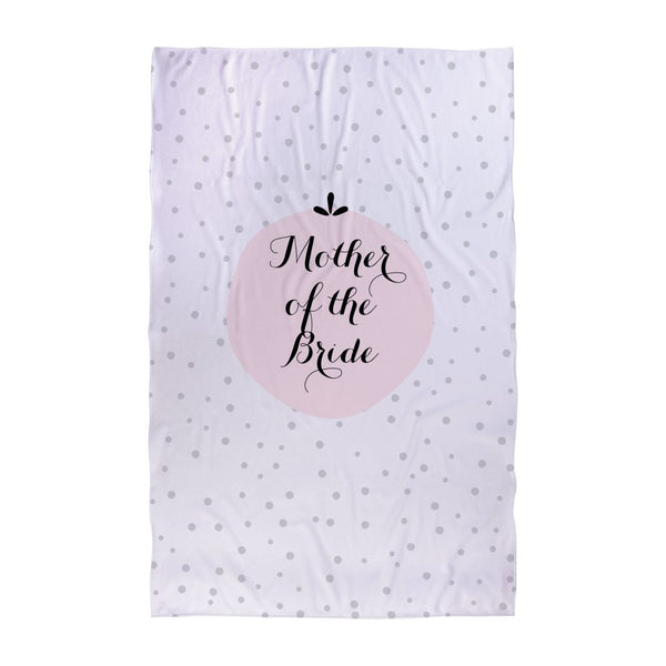 Polka Dot - Mother of the Bride - Wedding Towel