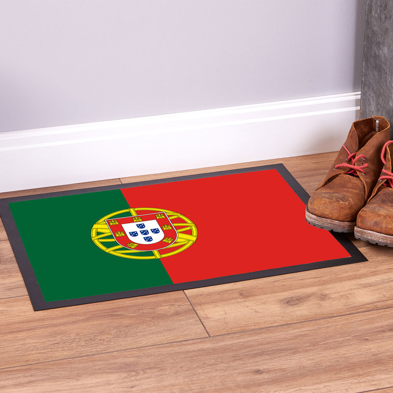 Portugal Flag - Door Mat