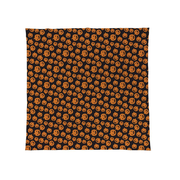 Pumpkins All Over - Halloween Fleece Throw