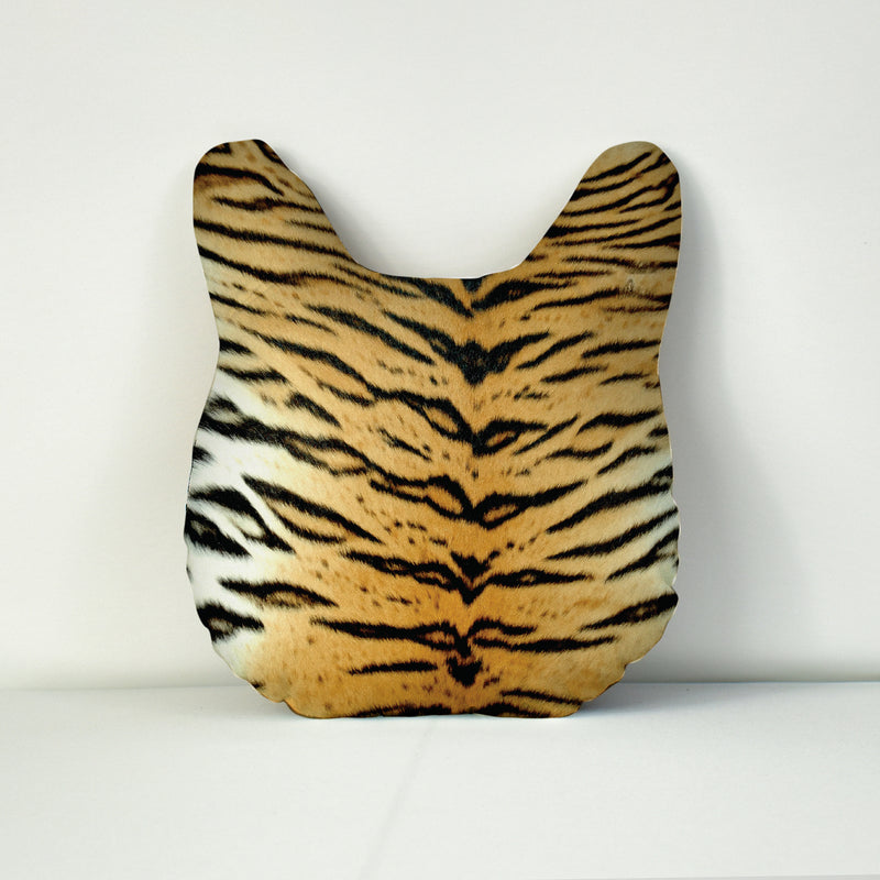 Pet Face Cushion - Tiger Print