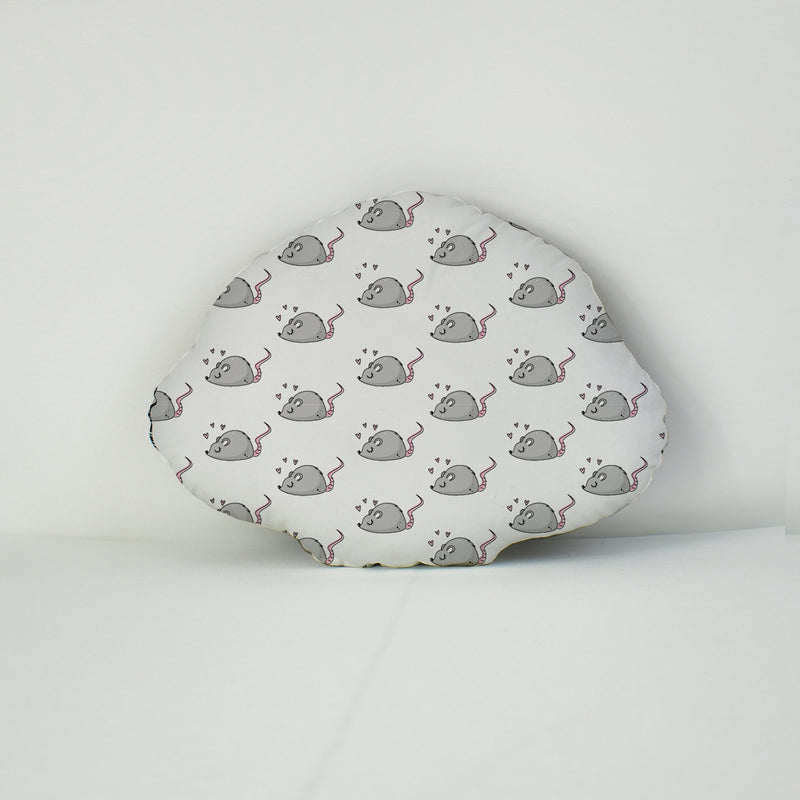 Pet Face Cushion - Mouse Pattern
