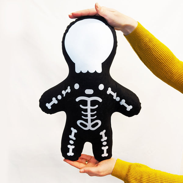 skeleton mini me doll