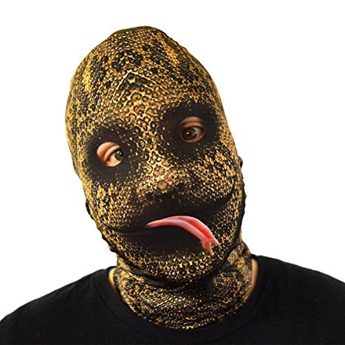 Snake skin! Tongue Out - Faceskin