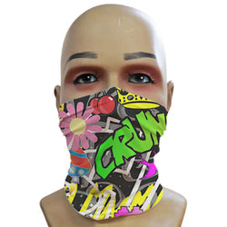 Acid Graffiti Black - Mini Snood