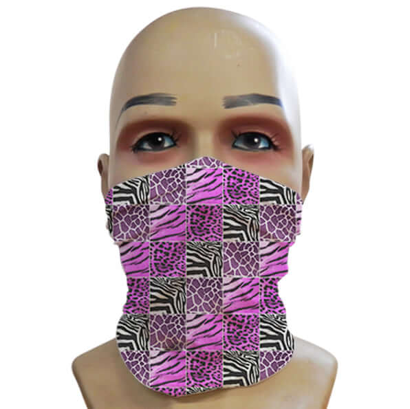 Animal Prints Purple - Mini Snood