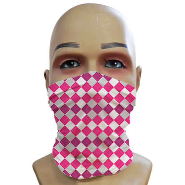 Argyll Pink - Mini Snood