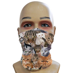 Cats all over - Mini Snood