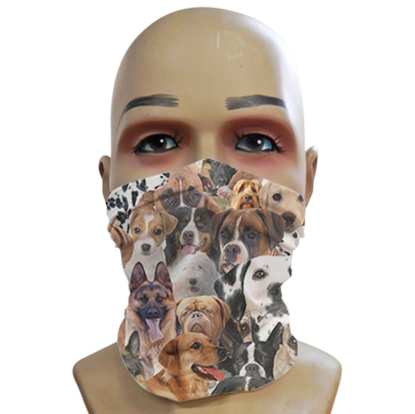 Dogs all over - Mini Snood