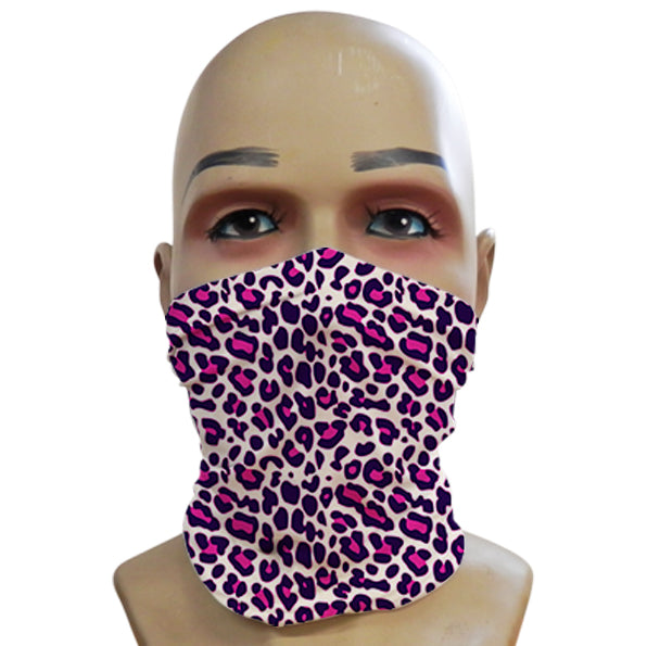Leopard Print Pink - Mini Snood
