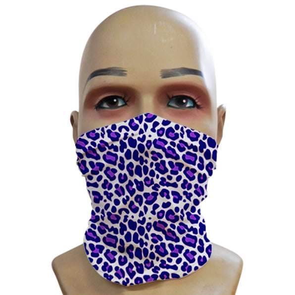 Leopard Print Purple - Mini Snood