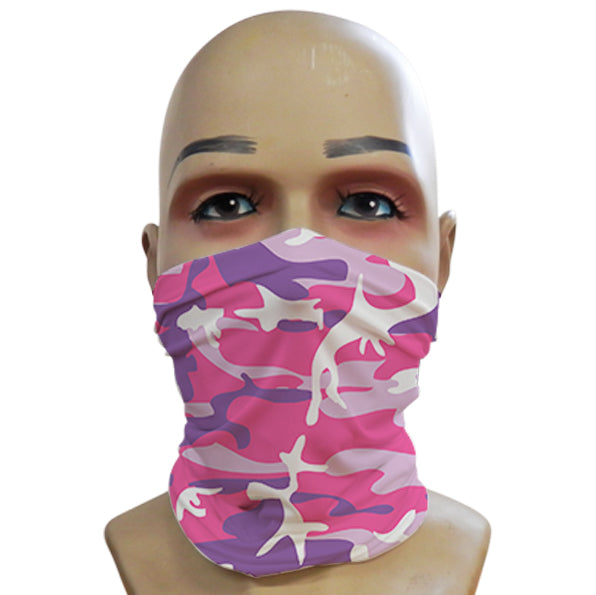 Pink Camo - Mini Snood