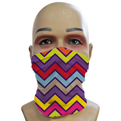 Purple Chevrons - Mini Snood