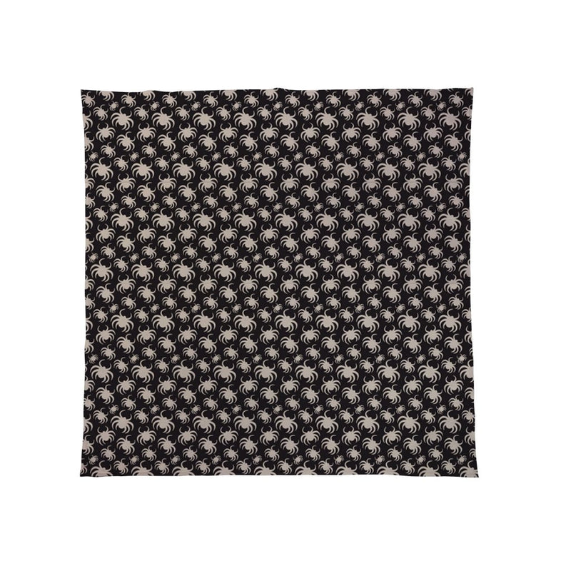Spiders All Over - Halloween Fleece Throw