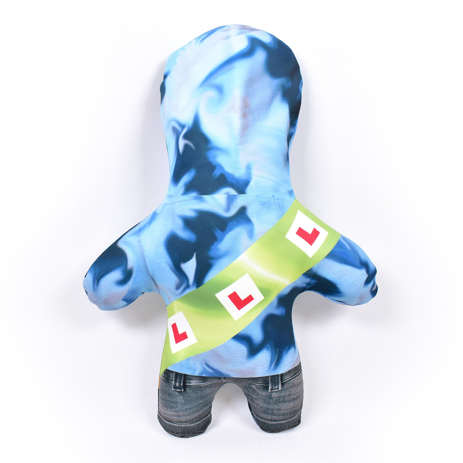 Stag Party - Blue Hoodie - Personalised Mini Me Doll