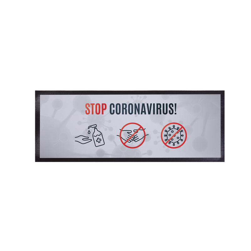 Personalised Bar Runner - Stop Coronavirus