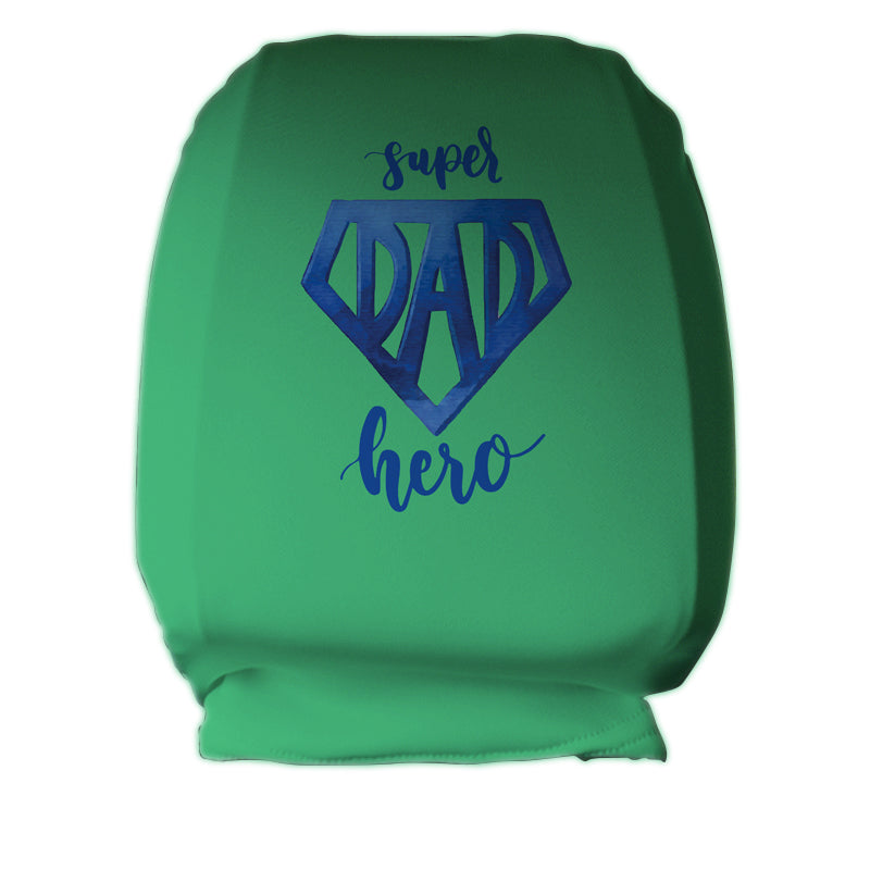 Super Dad Headrest Covers