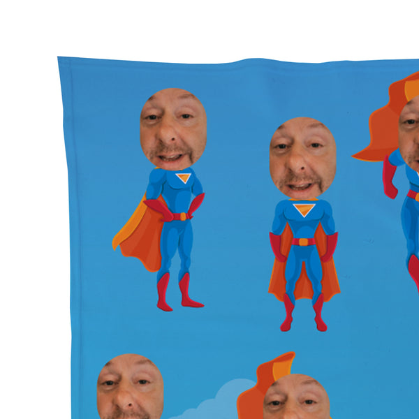Superhero - Face Character Blanket