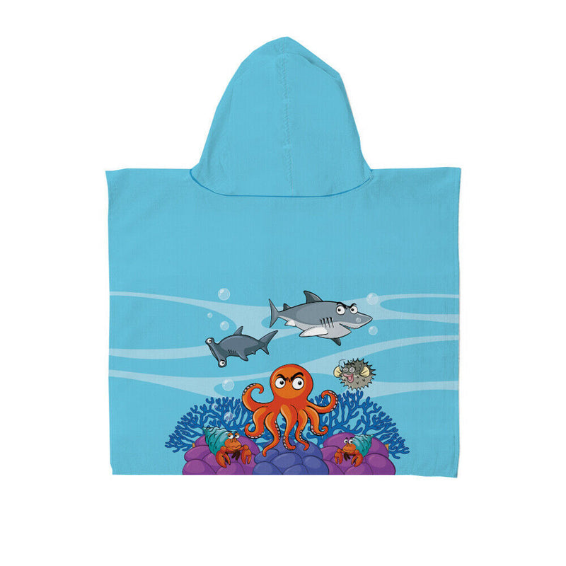 Boys Hooded Towel