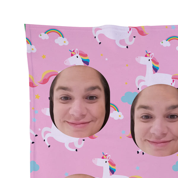 Unicorn - Face Scatter Blanket