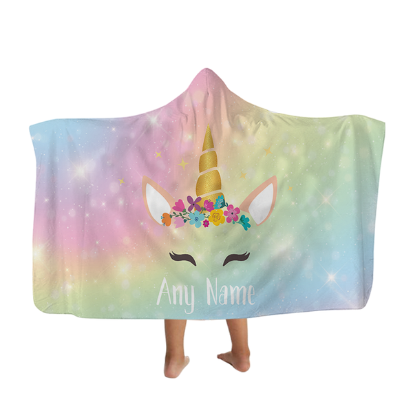 Unicorn - Hooded Blanket - Kids