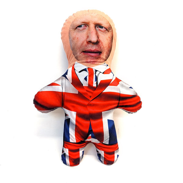 union jack mini me doll