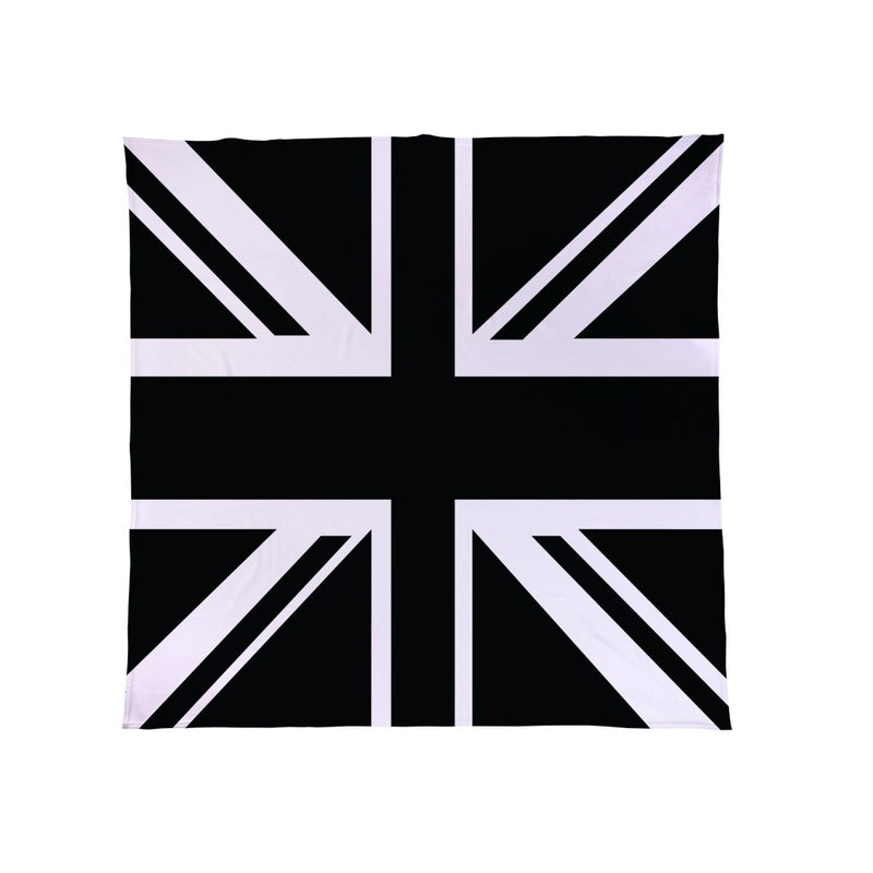 Union Jack B&W - Fleece Throw