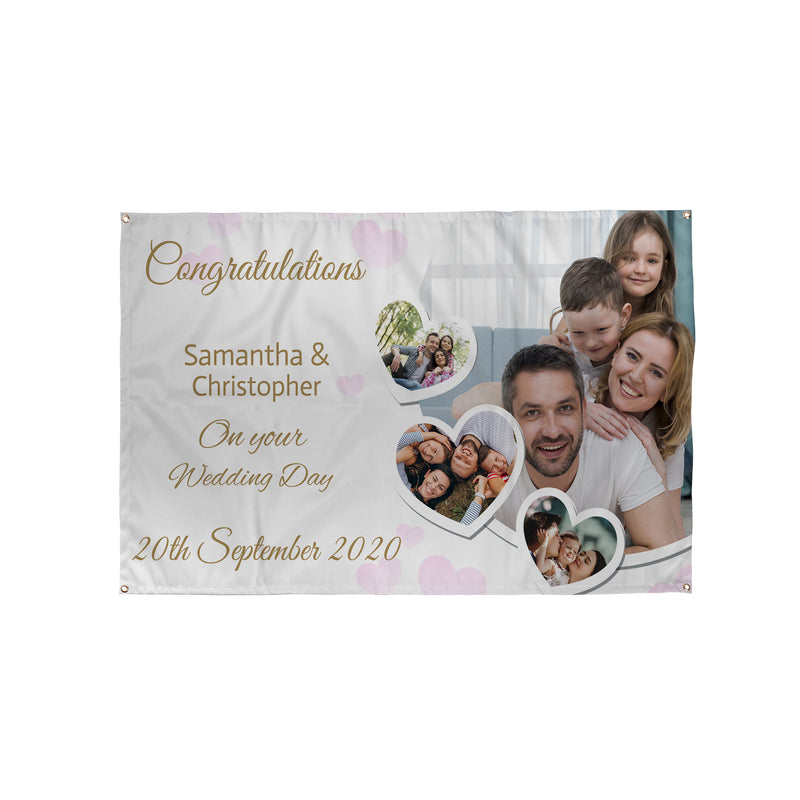 Personalised Wedding Banners