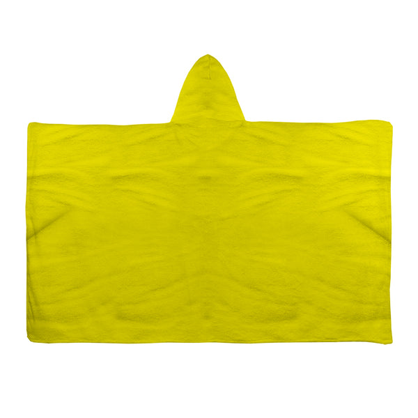 Hooded Towel - Plain Yellow