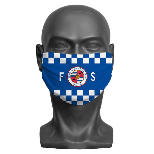 Reading FC Initials Adult Face Mask