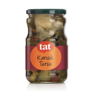Tat Mixed Pickles 1700Ml Glass / Karisik Tursu - Turkish Food Basket