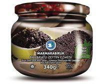 Mb Black Olive Paste Baharatli Zeytin Ezmesi 340 Gr Glass