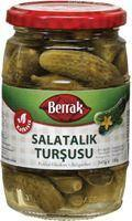 Berrak Gherkin Pickles (Salatalik Tursusu) 340Ml Glass
