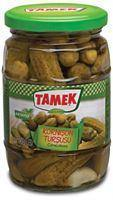 Tamek Kornison Pickles / Salatalik Tursusu 370 Ml Glass - Turkish Food Basket