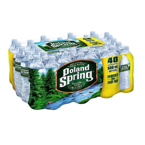 Spring Water / Su  - 40 Pc 0.5 Lt