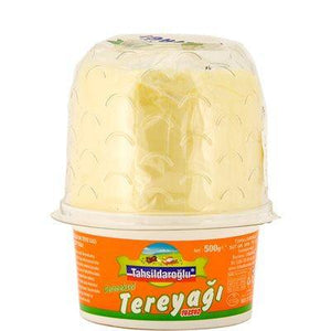 Tahsildaroglu Geleneksel Tereyagi / Traditional Pasteurized Butter Gel Pack 500 Gr - Turkish Food Basket