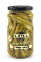 Gurme 212 Hot Pepper Pickled 170Gr Glass - Turkish Food Basket