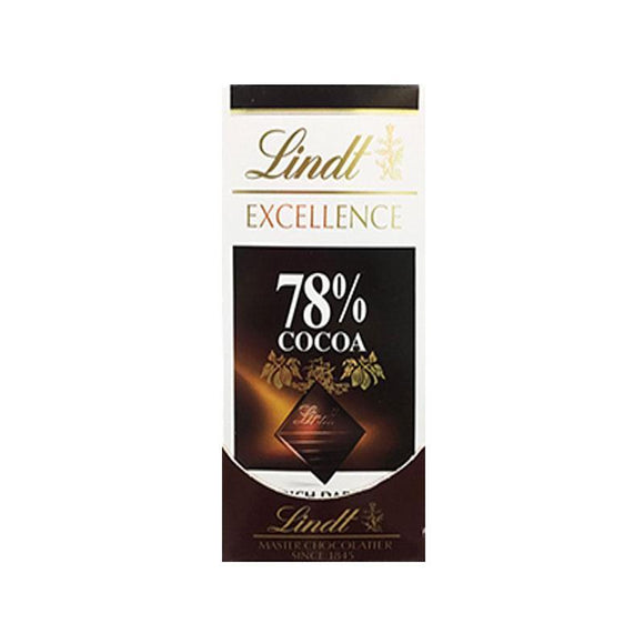 Lindt Excellence 78% Cocoa Dark Chocolate
