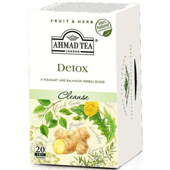 Ahmad Tea Detox 20 Bags / Detoks Cay - Turkish Food Basket