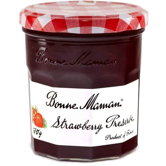 Bonne Maman Strawberry Preserves 370 Gr / Cilek Marmelati