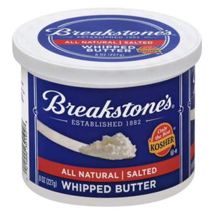 Breakstones Whipped Butter Salted 227 Gr / Cirpilmis Tuzlu Tereyagi - Turkish Food Basket