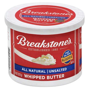 Breakstones Whipped Butter Unsalted 227 Gr / Cirpilmis Tuzsuz Tereyagi - Turkish Food Basket