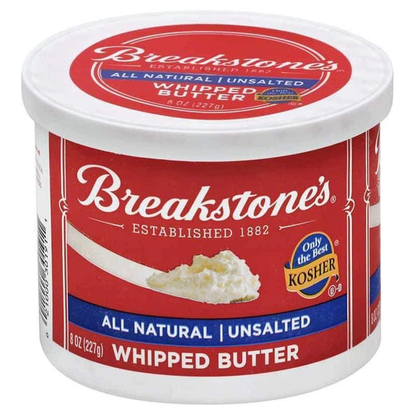 Breakstones Whipped Butter Unsalted 227 Gr / Cirpilmis Tuzsuz Tereyagi