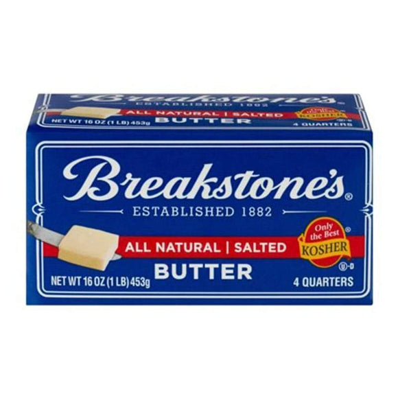 Breakstones Regular Butter Salted 227 Gr / Tuzlu Tereyagi - Turkish Food Basket