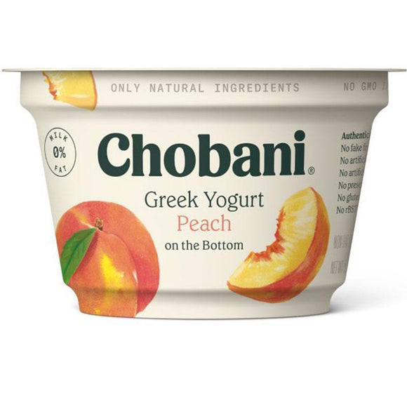 Chobani Peach Yogurt 150 Gr