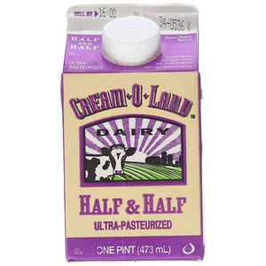 Cream O Land Half And Half Milk 473 ml / Kahve Kremasi - Turkish Food Basket